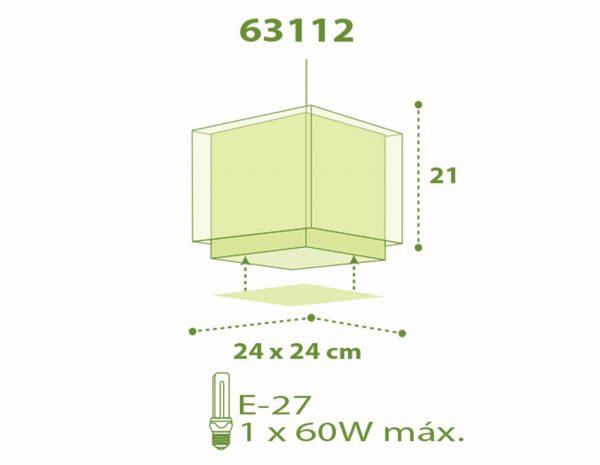 Little Zoo κρεμαστό φωτιστικό οροφής [63112]